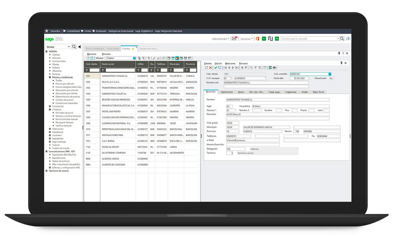 Sage 200 programa gestión empresas