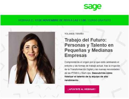 Webinar: Personas y Talento en Pymes con Yolanda Triviño