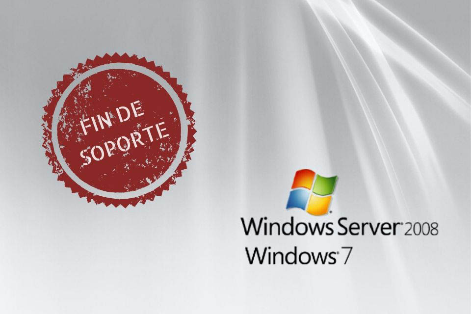 fin soporte windows server 2008 y windows7
