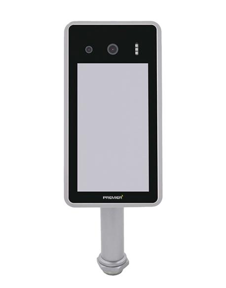 Dispositivo de reconocimiento facial con termografo y control de accesos