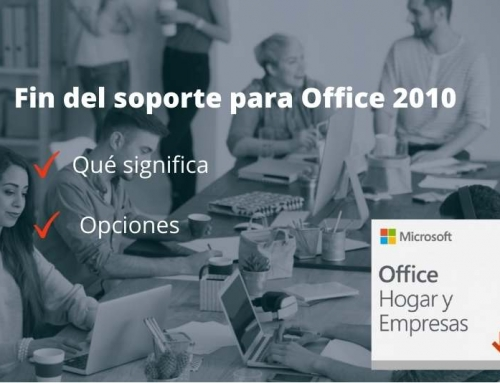 El soporte de Microsoft Office 2010 finaliza el 13 de octubre