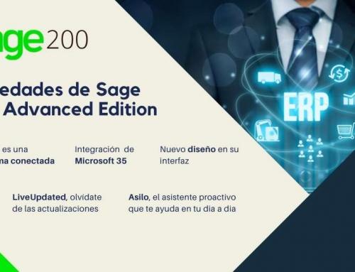Novedades Sage 200 Advanced, el ERP perfecto para tu empresa